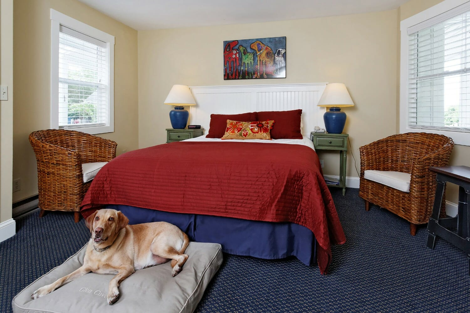 pet-friendly hotel near boat rentals tours in rockland rockport maine