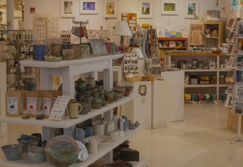 Archipelago store with handmade goods in Rockland Maine - best shopping in Rockland