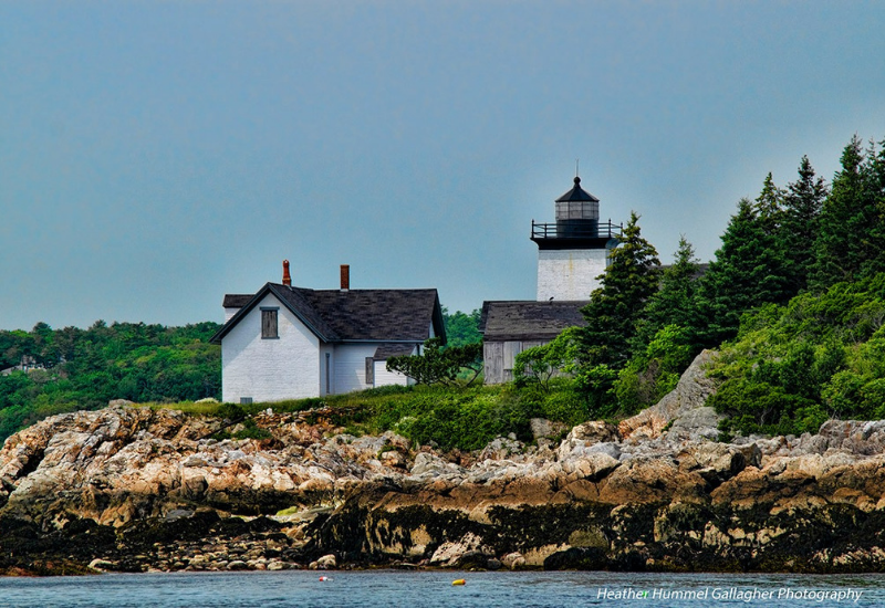 best lighthouses rockport maine - indian island lighthouse