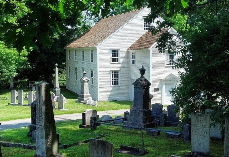 German Church and Cemetery - one of the MUST VISIT Historic Sites and Museums Near Rockland Maine
