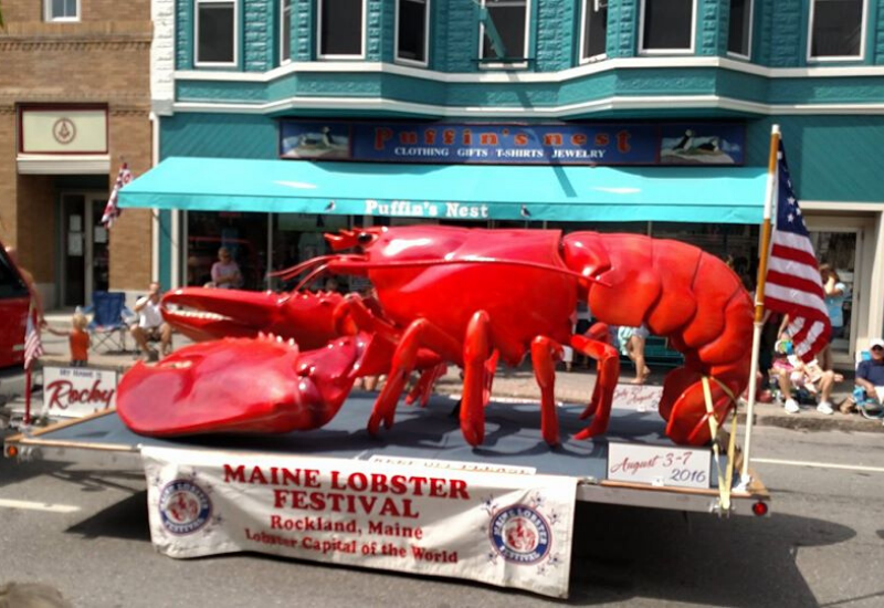 Maine Lobster Festival is a kid-friendly event in Rockland Maine