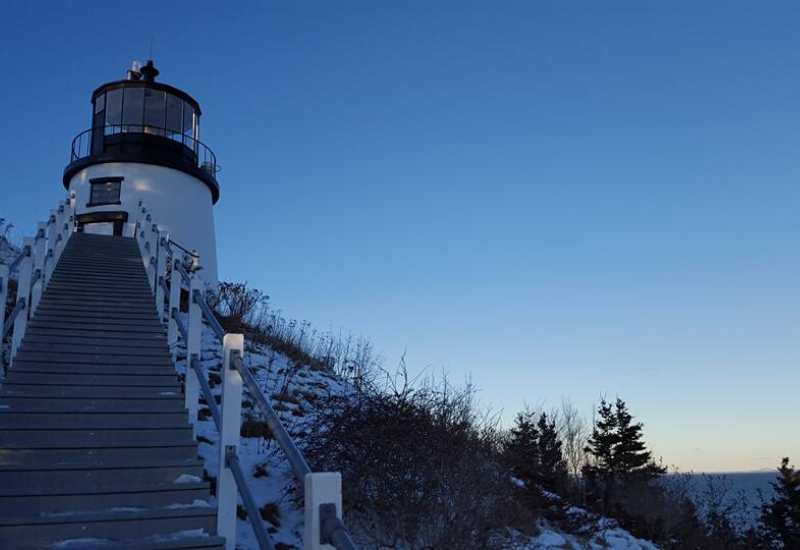 owls head lighthouse - a kid-friendly attraction in Rockland ME